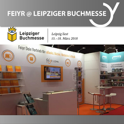 Feiyr and Nova MD at the Leipzig Book Fair 2018